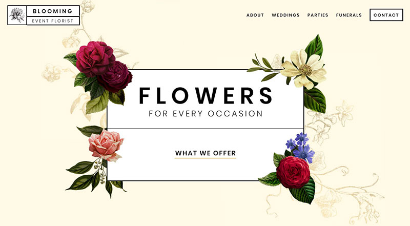 Blooming Event Florist