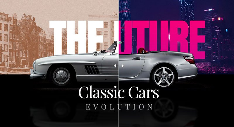 Classic Cars Before & After