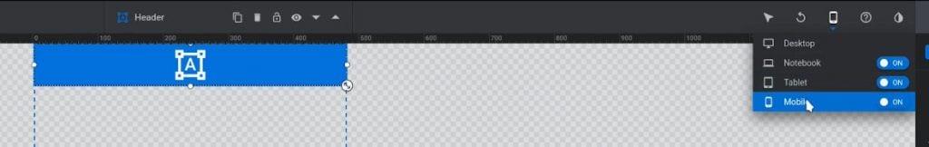 Auto-adjusting header width in all views
