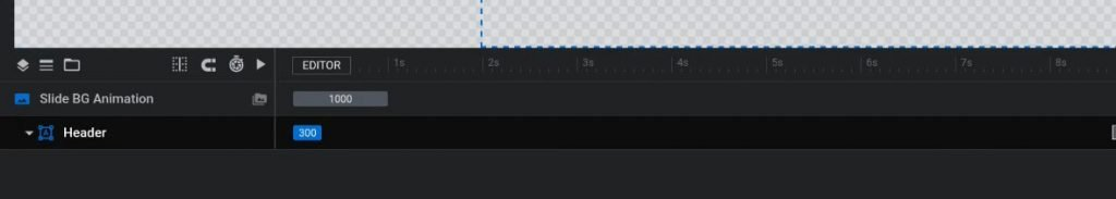 """Rename group layer to """"Header"""""""