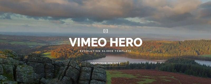 Vimeo Hero