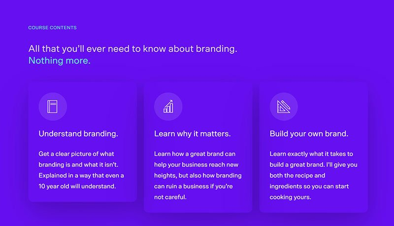 Simple Branding Course by Ention
