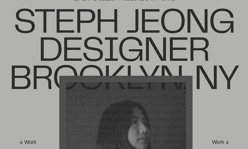 Steph Jeong Scrapbook '20