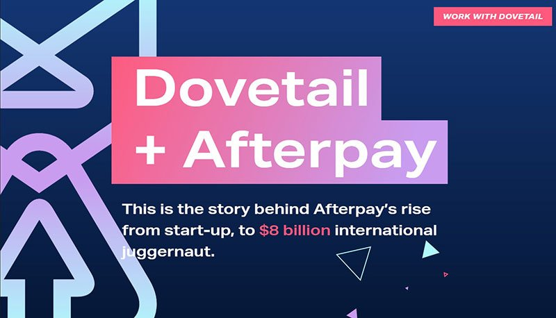 The Story of Dovetail and Afterpay