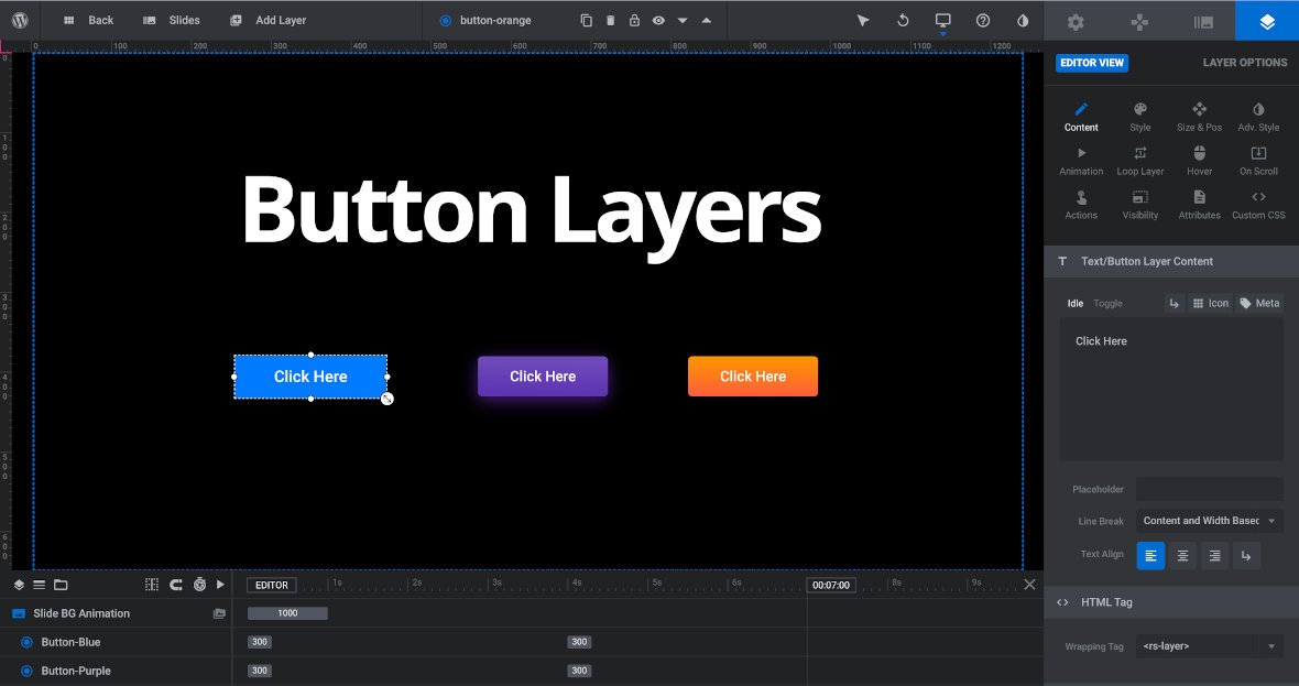 Button layer