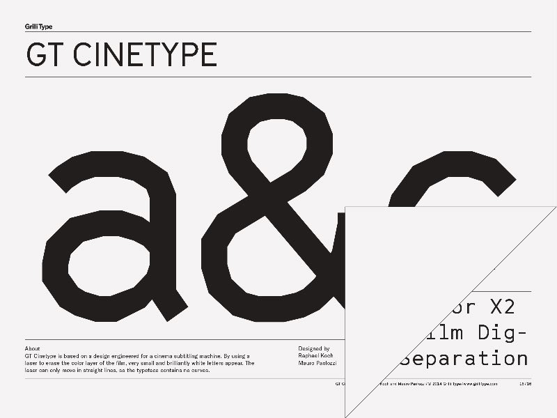 GT Cinetype