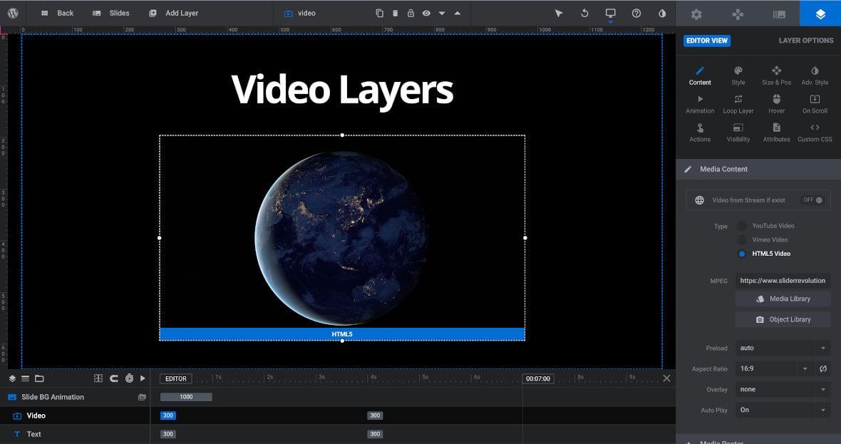Video layer