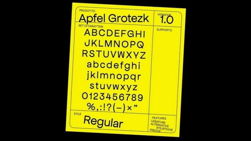 Apfel Grotezk