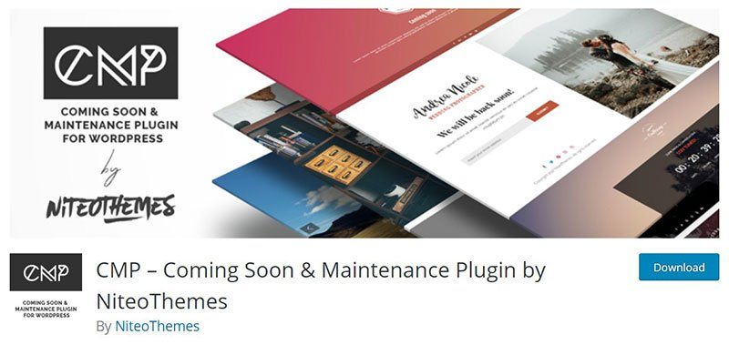 CMP – Coming Soon & Maintenance Plugin
