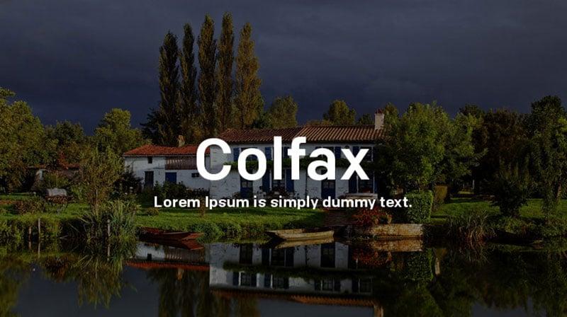 Colfax