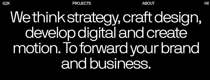 G2K Creative Agency