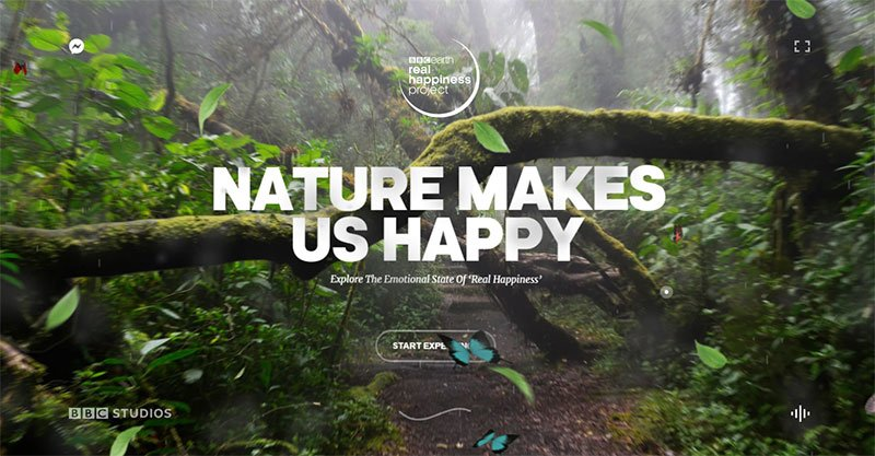 Nature Makes Us Happy